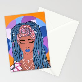 PEACE, LOVE AND LOCKS Stationery Cards