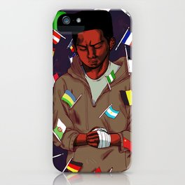 What nationalism represents to an immigrant? iPhone Case
