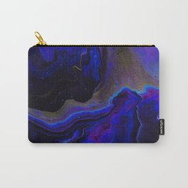 Dark Purple Blue Galaxy - Midnight Shades Carry-All Pouch