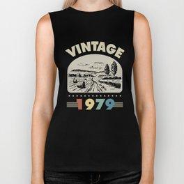 Birthday Gift Vintage 1979 Classic Biker Tank