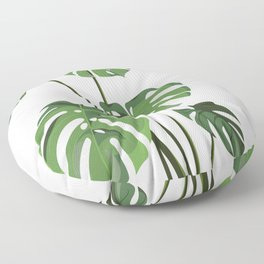 Monstera Deliciosa - Houseplant Floor Pillow