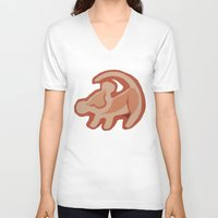 simba V-neck T-shirts featuring Simba / Lion King by tshirtsz