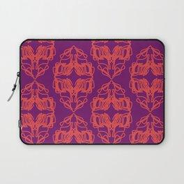 Luxury monograms Vint. pink Laptop Sleeve