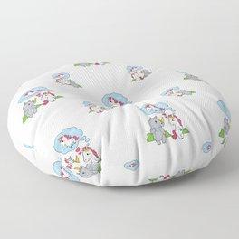 Fancy Love Floor Pillow
