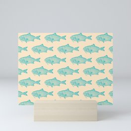 Swim Little Fish II Mini Art Print