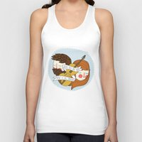 nan lawson Tank Tops featuring Music Is All Around by Nan Lawson