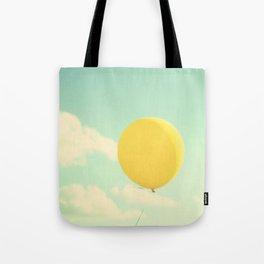 yellow balloon Tote Bag