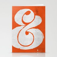 ampersand Stationery Cards featuring Ampersand by Andrei Robu