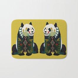 panda ochre Bath Mat
