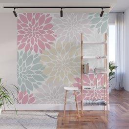 Pastel Petals Wall Mural
