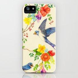 Summer Roundelay iPhone Case