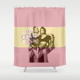 ESC Spain 1990 Shower Curtain