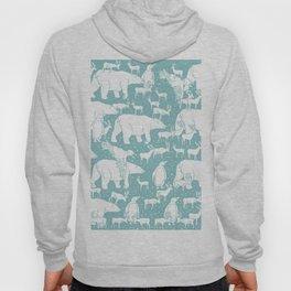 Polar gathering (peppermint) Hoody