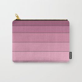 Colorful geometric pattern in shades of pink . Carry-All Pouch
