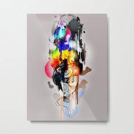 Dead Mans Tetris Metal Print