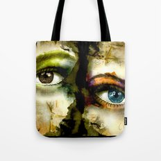 2Eyes2Faces by carographic Tote Bag