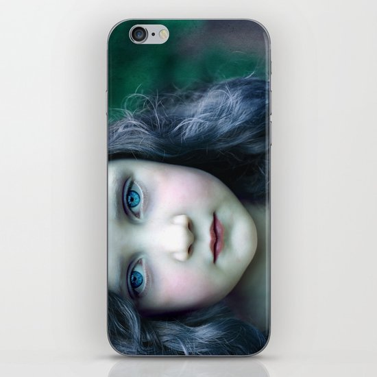 Even in my alternate universe, the rain makes my hair curl.  iPhone & iPod Skin