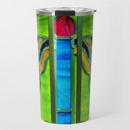 Mausoleum Stained Glass Travel Mug