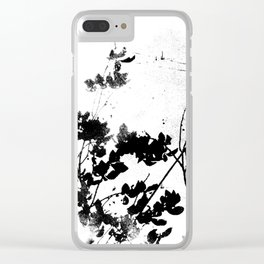 Floral Remains #Society6 #decor #buyart Clear iPhone Case