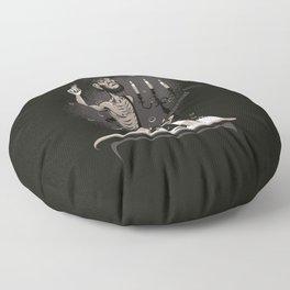Towering Genius Disdains a Beaten Path Floor Pillow