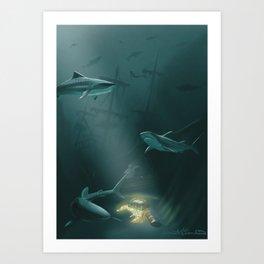 The Deep Art Print