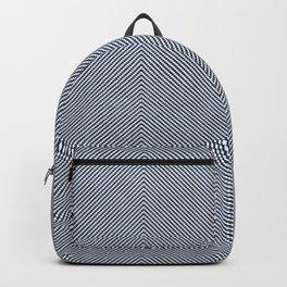 Stitch Weave Geometric Pattern Backpack