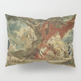 Resting Diana, from the Triumph of the Gods Pillow Sham