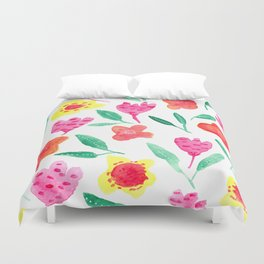 Summer blossoms Duvet Cover