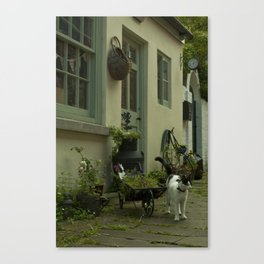 Think French  Canvas Print