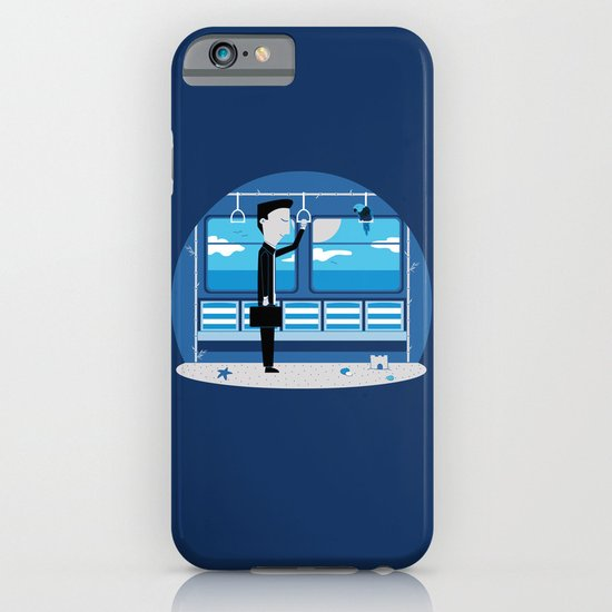 Dreaming of Holidays iPhone & iPod Case