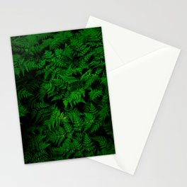 Deep Forest Ferns Stationery Cards