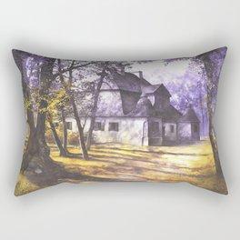 Polish Mansion in Ozarow Rectangular Pillow