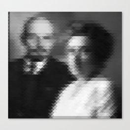 Lenin + Luxemburg Canvas Print