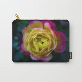 Foggy Rainbow Rose Carry-All Pouch