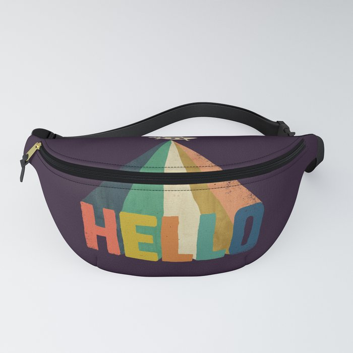 Hello I come in peace Fanny Pack