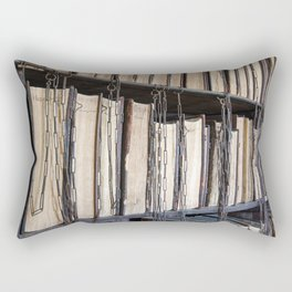 Books in chains Rectangular Pillow