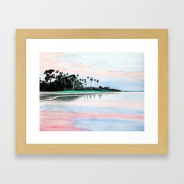 Crystal Water Framed Art Print