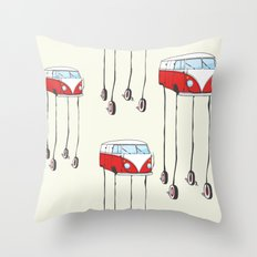 the daliwagen Throw Pillow