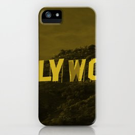 The Hollywood Sign iPhone Case