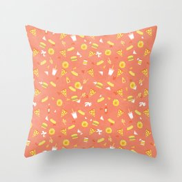 Hunger Street Throw Pillow