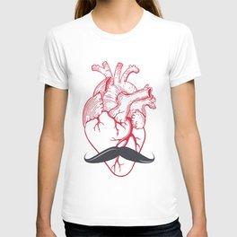 Hipster at heart T-shirt