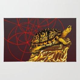 Crystal V - Turtle Rug