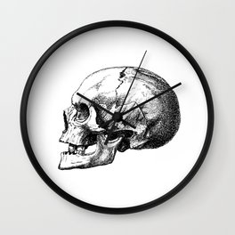 Just One More Skull Wall Clock