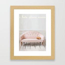 Ringer on Silent Framed Art Print