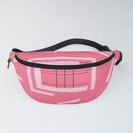 Abstract pattern geometric backgrounds                Fanny Pack