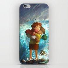 girl in the sea iPhone & iPod Skin