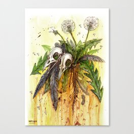 Insincere Canvas Print