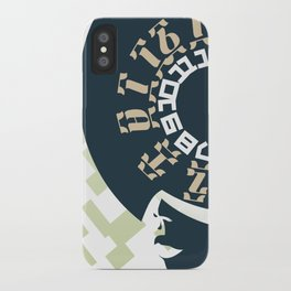 GEEZ-GIRL iPhone Case