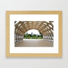 Lincoln Park Zoo Overlook Framed Art Print