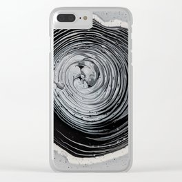 The infinite hole Clear iPhone Case
